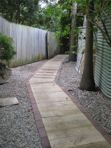Inness Green Landscaping path paving